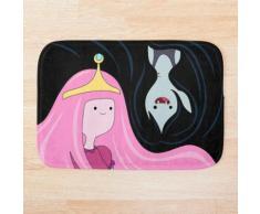 Princesse Bubblegum et Marceline Tapis de bain