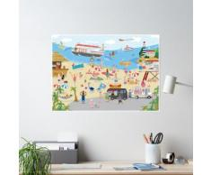 Plage Poster