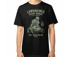 Maniac de course tondeuse à gazon T-shirt classique