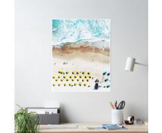 Impression de plage, Beach Art Print, vie de plage, affiche de plage moderne, impression de l Poster