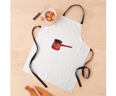 Serbe Metalac Cookware Thé / Cafetière Tablier