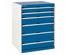 bott 1 armoire d'atelier à tiroirs bott sl-87 - hauteur 100 cm