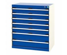 bott 1 armoire d'atelier à tiroirs bott sl-85 - hauteur 90 cm