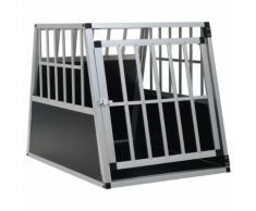vidaXL Cage pour chien avec une porte 65 x 91 x 69,5 cm