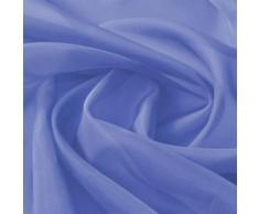 vidaXL Tissu de rideau 1,45 x 20 m Bleu royal
