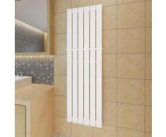 vidaXL Porte-serviette 465mm + Radiateur panneau blanc 465mm x 1500mm