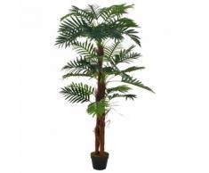 vidaXL Plante artificielle avec pot Palmier Vert 165 cm