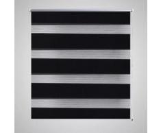 vidaXL Store enrouleur tamisant 140 x 175cm noir