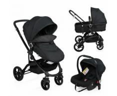Little World Poussette 3 en 1 City Walker Noir LWST003-BK