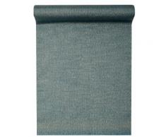 Chemin de table en lurex bleu 28 cm x 3 m