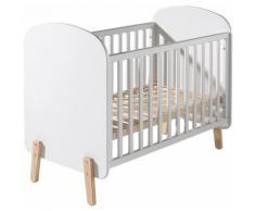 Lit bébé transformable pin blanc – KIDDY