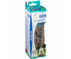 dodie® Biberon Initiation+ 330 ml Mickey tétine débit 3 ml Bouteilles
