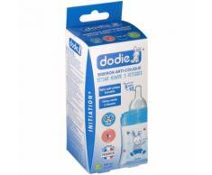 dodie® Initiation+ biberon 150 ml avec tétine débit 1 bleu pc(s) Bouteilles