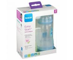 MAM Biberon anti-colique 260 ml de 0 à 6 mois motif Vert et Bleu pc(s) Bouteilles
