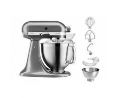 Robot pâtissier KitchenAid Artisan 5KSM185PSEMS 300 W Gris Etain