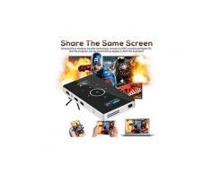 Support mini intelligent portatif 4k 1080p uhd hdmi usb tf de projecteur pour la maison