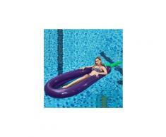 Grande piscine d'aubergine d'été loisirs eau flottant adulte confortable violet