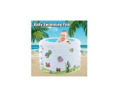 Piscine gonflable pour bébé - baignoire pour bébé, piscine à balles de piscine portative à coussin bt004