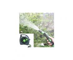 Enrouleur de tuyau flexible 50m mural rangement voiture jardin arrosage enrouleur nouveau bt007
