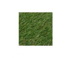 Icaverne - fleurs & plantes artificielles moderne gazon artificiel 1 x 10 m / 20-25 mm vert