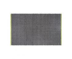 Tapis intérieur extérieur vernon noir 270 x 180 cm