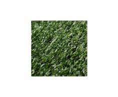 Icaverne - fleurs & plantes artificielles contemporain gazon artificiel 1,5 x 10 m / 7 - 9 mm vert