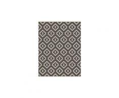 Tapis - dessous de tapis ralph tapis intérieur / extérieur - 150x200 cm - marron et creme
