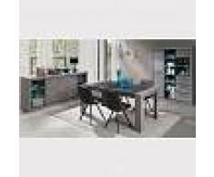 Kasalinea Salle à manger complète contemporaine couleur bois duncan