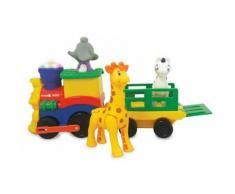 Petit train animaux Safari jouet interactif sons et lumières bébé enfant 12m+ - Autre circuit / véhicule