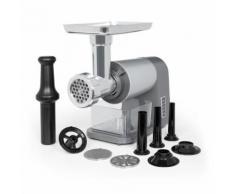 Klarstein Mett Max Hachoir électrique semi-professionnel - 3 disques perforés & poussoir à saucisses - Hachoir