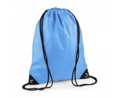 Sac à dos à bretelles - gym - linge sale - chaussures - BG10 - bleu ciel - Sac à dos bandoullière