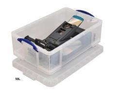 Really Useful Box Boite de rangement en plastique 50 Litres - Boîte de classement