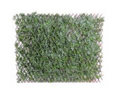 Plante artificielle haute gamme Spécial extérieur / ARALIA PALISSADE artificielle - Dim : 100 x 200 cm -PEGANE- - Plantes artificielles