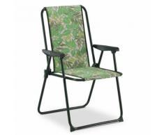 Chaise fixe Solenny Rembourrée 2 cm Appui Haut - Mobilier de Jardin