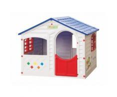 Maisonnette pour enfant LITTLE HOUSE - L130 x l106 x H115 cm - Maisons de jardin