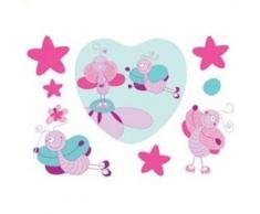 Babymoov papillons autocollants stickers deco - Décors et stickers