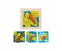 Puzzle en bois métamorphose du papillon - Autres jouets en bois