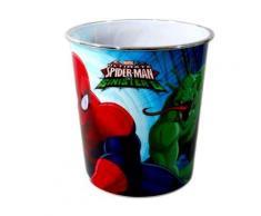 Corbeille a papier Spiderman poubelle enfant Disney - Corbeille, bac à courrier, poubelle
