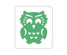 Perforatrice Pop-Up 3D - Hibou - 3,5 cm - Destructeur papier