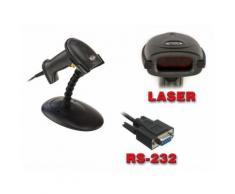 Lecteur de Codes Barres XL6200A - RS232 Mains libres, avec son portique. - Autres
