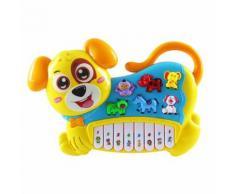 Instrument de Musique Jouet Bébé Enfants Animal Farm Piano Musique Du Développement Jouets Jaune WEN345 - Jouet multimédia