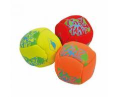 Donic Schildkröt boules d'eau jaune / 5cm 3 orange / rouge pièces - Jeu / Piscine gonflable