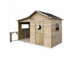 Maisonnette en bois FSC Camelia 3m² avec véranda - Alice's Garden - Mobilier de Jardin