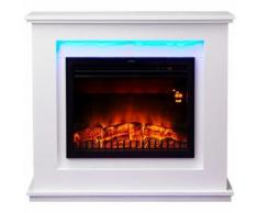 cheminée électrique 2000w blanc - 181 - Cheminées, poêles