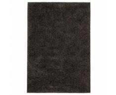 Homgeek Tapis à poils Longs pour Chambre ou Salon 140 x 200 cm Anthracite - Textile séjour
