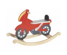 Goki rocker Moteur à bascule junior rouge 52 x 78 cm - Jouets à bascule en bois