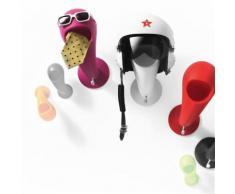 Patère design myyour crazy head - Miroir
