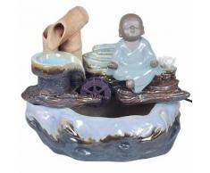 Mini-Fontaine d intérieur moine bouddhiste 27 cm - Objet à poser