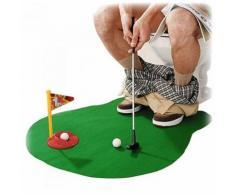 Tapis de Golf pour les Toilettes - Matériels d'entrainement de golf
