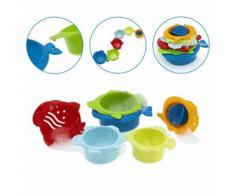 Chicco jouets de bain 2 en 1 Seaforms junior 6 pièces - Jouet pour le bain